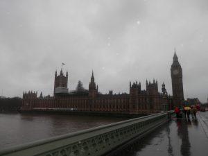 Big Ben, uno de los iconos más populares de la ciudad londinense; 02/01/2016.